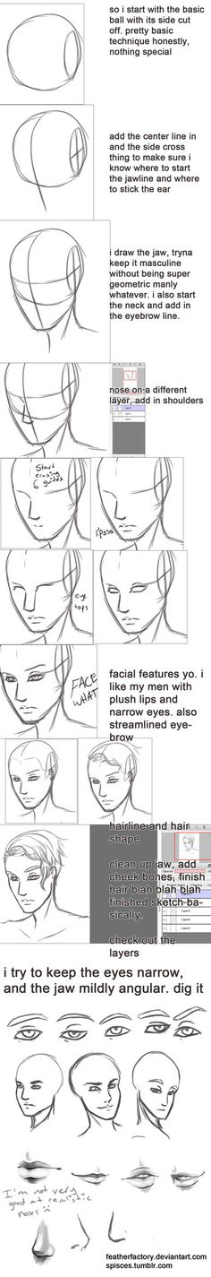 sketchin_a_pretty_dude_s_face_walkthrough_thing_by_featherfactory-d65yhvf.jpg (363×2193)