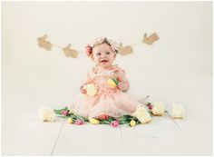 Easter themed mini sessions with chicks and bunnies in studio | Photo by Massart Photography, RI MA CT