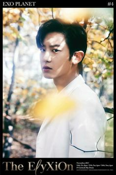 Chanyeol - 171116 Exoplanet #4 - The EℓyXiOn individual poster