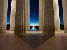 Lincoln Memorial - Washington D.C, USA Built to honor the 16th president of the United States of America, The Lincoln Memorial is located across from the Washington Monument. The building resembles a...