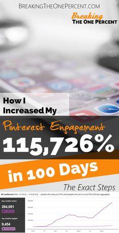 Increase Pinterest Engagement   Social Media Marketing   Branding Tips   Make Money Blogging