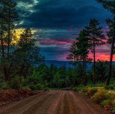 Sunset tonight from Payson, Arizona. Payson Arizona, Payson Az, Beautiful World, Beautiful Places, Beautiful Pictures, Beautiful Mind, Mother Earth, Mother Nature, Light Painting