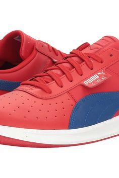 PUMA G. Vilas 2 (Barbados Cherry/True Blue) Men's Shoes - PUMA, G. Vilas 2, 36285903-600, Footwear Athletic General, Athletic, Athletic, Footwear, Shoes, Gift, - Street Fashion And Style Ideas