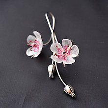 Náušnice - Náušnice jabloňové kvety - 8202762_