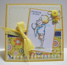 Love the stitching - from Dorcas Designs by Dorcas