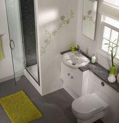 Como decorar un baño pequeño con estilo moderno - Mujeres Femeninas
