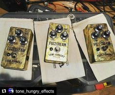 Repost @tone_hungry_effects:  2 of these are going to new homes today there's 2 more waiting to be claimed. Selling these blems for $120 usd shipped to USA and Canada ...dm me for details. #fuzzpedal #germaniumfuzz #germaniumtransistors  #guitarfx #guitar #guitarpedals #geartalk #gearporn #knowyourfuzz #knowyourtone  #gearwire #fuzzface #fuzzhead #toneheaven  #madeinyyc  #madeincanada #fuzz #goldleaf #stompbox