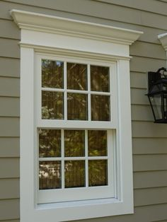 54 Super Ideas For Exterior House Trim Window Casing Design Exterior, Exterior Trim, Exterior House Colors, Exterior Paint, Colonial Exterior, Modern Exterior, Craftsman Exterior, Cottage Exterior, Window Shutters Exterior
