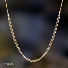 Gold Chain Design, Gold Jewellery Design, Gold Earrings Designs, Pearl Necklace Designs, Gold Jewelry Simple, Bridal Jewelry, Pendant Jewelry, Gold Necklace, Kalakand Recipe