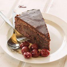 Cherry chocolate cake without flour - Flourless Cherry Chocolate Fudge Cake-sweet thing going - Vinnie's blog