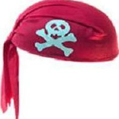 Make a Pirate Hat From a Bandanna