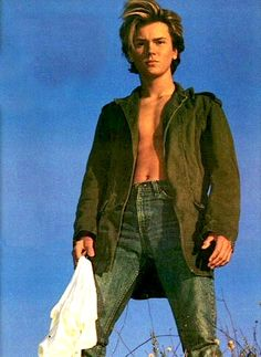 .RIver Phoenix/My goodness. He was so beautiful on the inside and the outside.