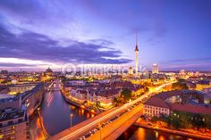 Stock-Foto : Berlin Skyline der