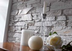 Andes Slate Collection - Italian White - 1m²/panel