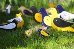 Eco friendly play with Three Mice cardboard toys