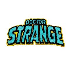 "Retro Marvel ""Doctor Strange"" Iron-On Patch Superhero Comic Fan Apparel Applique Pin And Patches, Iron On Patches, Jacket Pins, Patched Jeans, Fabric Patch, Cute Pins, Pin Badges, Retro, Marvel Comics"
