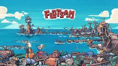 Flotsam - Environment Art on Behance