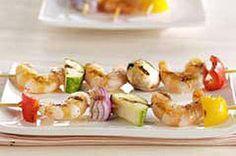 Margarita Shrimp and Vegetable Kabobs recipe