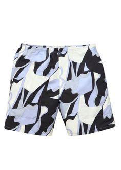 Supreme abstract print shorts