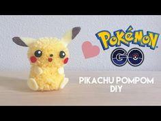 DIY Pokemon GO Pikachu Pom Pom Craft - YouTube
