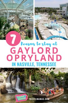 For a family-focused resort with all sorts of activities for kids, read this review of Gaylord Opryland. A waterpark, boat rides, and fountain show are just the start! Learn about seven reasons to choose this hotel for your Nashville family vacation. Resorts For Kids, Hotels For Kids, Family Vacation Destinations, Cruise Vacation, Beach Hotels, Hotels And Resorts, Travel With Kids, Family Travel, Opryland Hotel