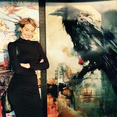 Lindsey Kustusch - Cuervos y ciudades Raven Pictures, American Academy Of Art, American Artists, New York Cityscape, Moving To San Francisco, Raven Art, Joseph, Powerful Art, Artist Bio