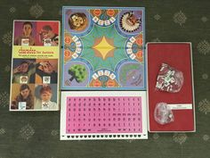 Charades for Juniors Vintage Board Game Selchow & Righter 1968 by yourmamashouse on Etsy