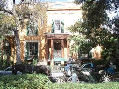 Sorrel Weed House from Madison Square in Savannah, Ga.