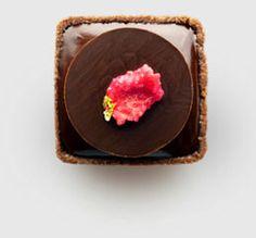 chocolate tart - many more beauties http://www.fruute.com/