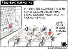 Marketoonist is the thought bubble of Tom Fishburne. Marketing cartoons, content marketing with a sense of humor, keynote speaking. Social Media Marketing, Digital Marketing, Power Out, Funny Memes, Humor, Competitor Analysis, Cartoons, Growth Hacking, Sarcasm