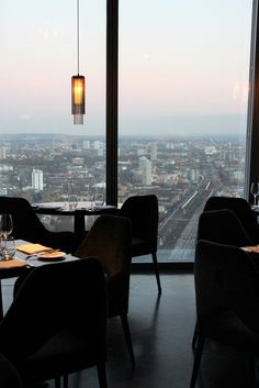 Take a photo of the view from the loos in the Aqua Shard.