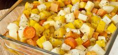 roasted potatoes, yams, carrots, yellow beets, parsnips and rutabaga Roasted Root Vegetables, Root Veggies, Ayurvedic Recipes, Vegetarian Recipes, Healthy Recipes, Middle Eastern Recipes, Roasted Potatoes, Yams, Soul Food