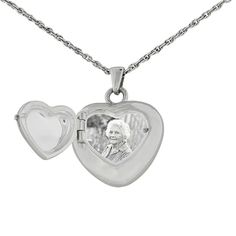 Double Heart Locket and Necklace for Ashes | Remembrance Jewelry