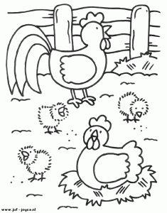 farm animal coloring page (3)