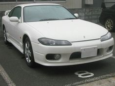 Nissan S15 Silva. I really wish that they sold these in the USA. This car is so simple,  yet so beautiful.