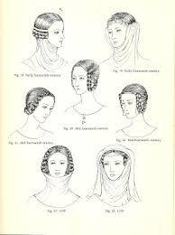 Znalezione obrazy dla zapytania średniowieczne ozdoby do włosów