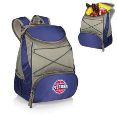 PTX Backpack Cooler - Detroit Pistons