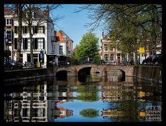 De Smidswater en de Nieuwe Uitleg, foto Piet Gispen.