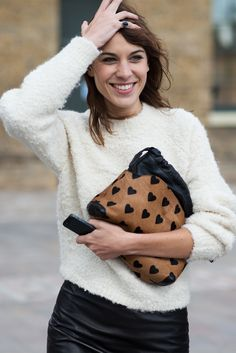 Alexa Chung x The Locals; so in love with that purse