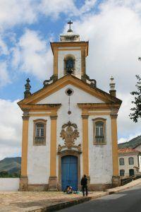 Igreja de Nossa Senhora das Mercês e Misericórdia em Ouro Preto