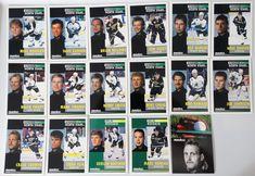 1991-92 Pinnacle Minnesota North Stars Team Set of 17 Hockey Cards #MinnesotaNorthStars
