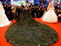 Quick Pic: The Wedding Dress For The Woman Who Has A Bottomless Bank Account