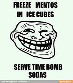 Time bomb sodas