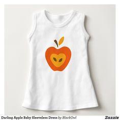 Darling Apple Baby Sleeveless Dress Shirt