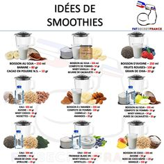 Nutrition for a better life Healthy Smoothies, Healthy Drinks, Smoothie Recipes, Diet Recipes, Healthy Recipes, Batch Cooking, Healthy Cooking, Healthy Food, Smoothies Sains