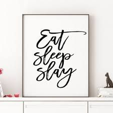 Image result for slay typography poster
