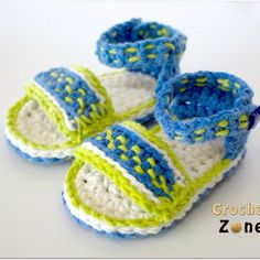 crochetzoneblog crochet sandals