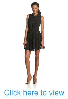 Two by Vince Camuto Women's Sleeveless Two Pocket Dress #Two #Vince #Camuto #Womens #Sleeveless #Pocket #Dress