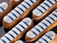 to ] Great to own a Ray-Ban sunglasses as summer gift.Fashion and Vintage styles. Choux Pastry, Pastry Art, Eclairs, Jean Paul Gaultier, Breton Stripes, French Patisserie, French Pastries, Pastry Recipes, French Food