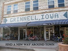 Bikes To You Grinnell Iowa Bikes To You is a small town